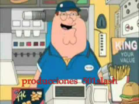 Peter Griffin - Retarded Burger King