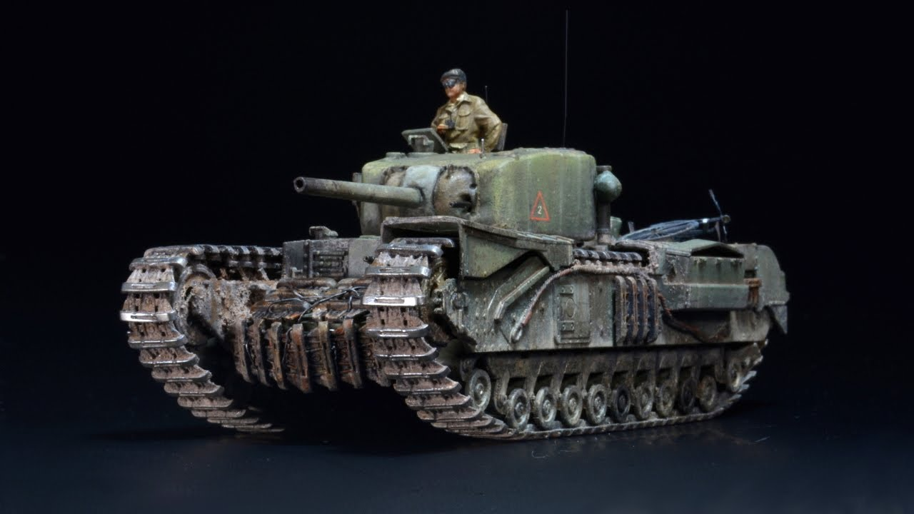 Churchill MK.IV NA 75 - 1/72 Dragon- Tank Model