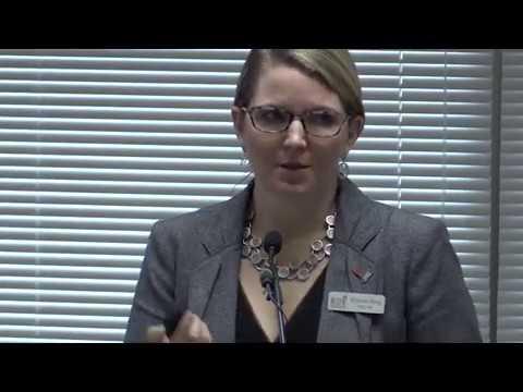 Brenda Berg Speaking At Joint Legislative Study Committee On School-Based Administrator Pay