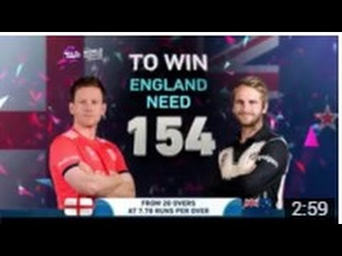 T20 World Cup 2016  First Semi final England Vs Newzealand