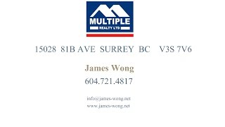 15028 81B AVE SURREY BC   V3S 7V6 by James Wong