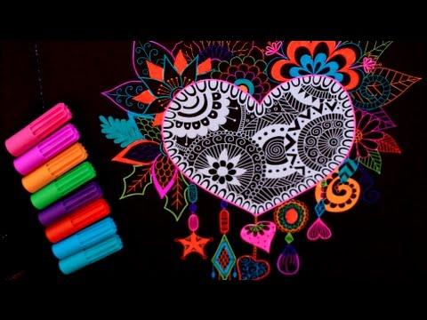 Heart Shaped Mandalas Coloring Coloring Pages