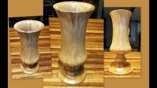 How I Made A Sycamore Vase