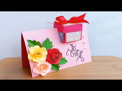 How to make Special Birthday Card For Best Friend//DIY Gift Idea...