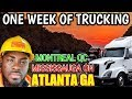Trip To Atlanta Georgia Pick Up Load In Montreal Drop in Ontario. Vlog #106