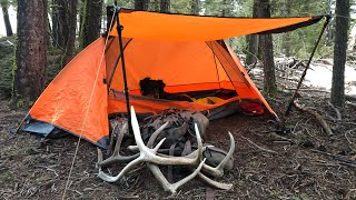 Elkhorn Mountain Shed Dogs: Tнe Quest Season 1 Ep 1 Backpacking for shed elk antlers