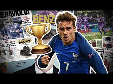 Antoine Griezmann récompensé ! | Revue de presse