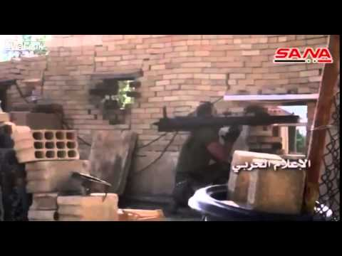 Syrian Army and Hezbollah, Progress in to Downtown Zabadani