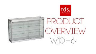 W10-6 Wall Display Cabinet