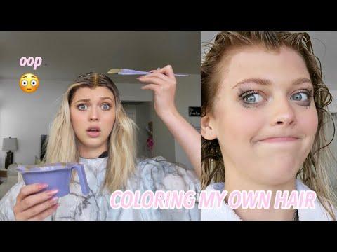 i dyed my own hair  Loren Gray