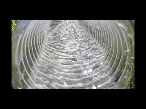 Why Corrugated Pipe is Better than PVC Pipe for Yard Drainage