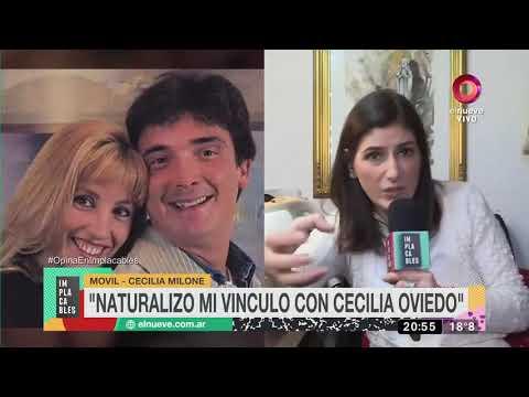 Cecilia Milone y Cecilia Oviedo se reconcilian