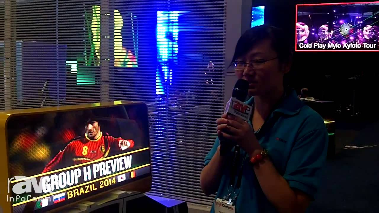 InfoComm 2014: Q-Color Shows Us Their Taxi LED Sign