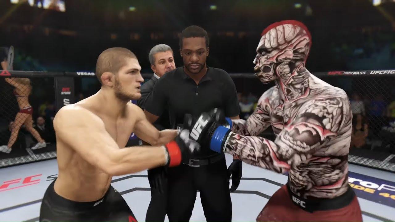 Khabib vs. White Assassin - EA Sports UFC 3