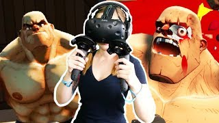 Lady Ctop vs Gorn! - Gorn Gameplay - VR HTC Vive