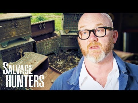 An Exclusive Peek Into A Giant Shed Full Of South Asian Antiques | Salvage Hunters
