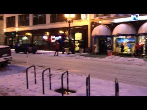 Ski Jump on Broadway - Downtown Portland