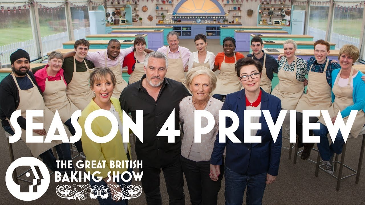 Season 4 Preview Great British Baking Show Pbs Food Youtube