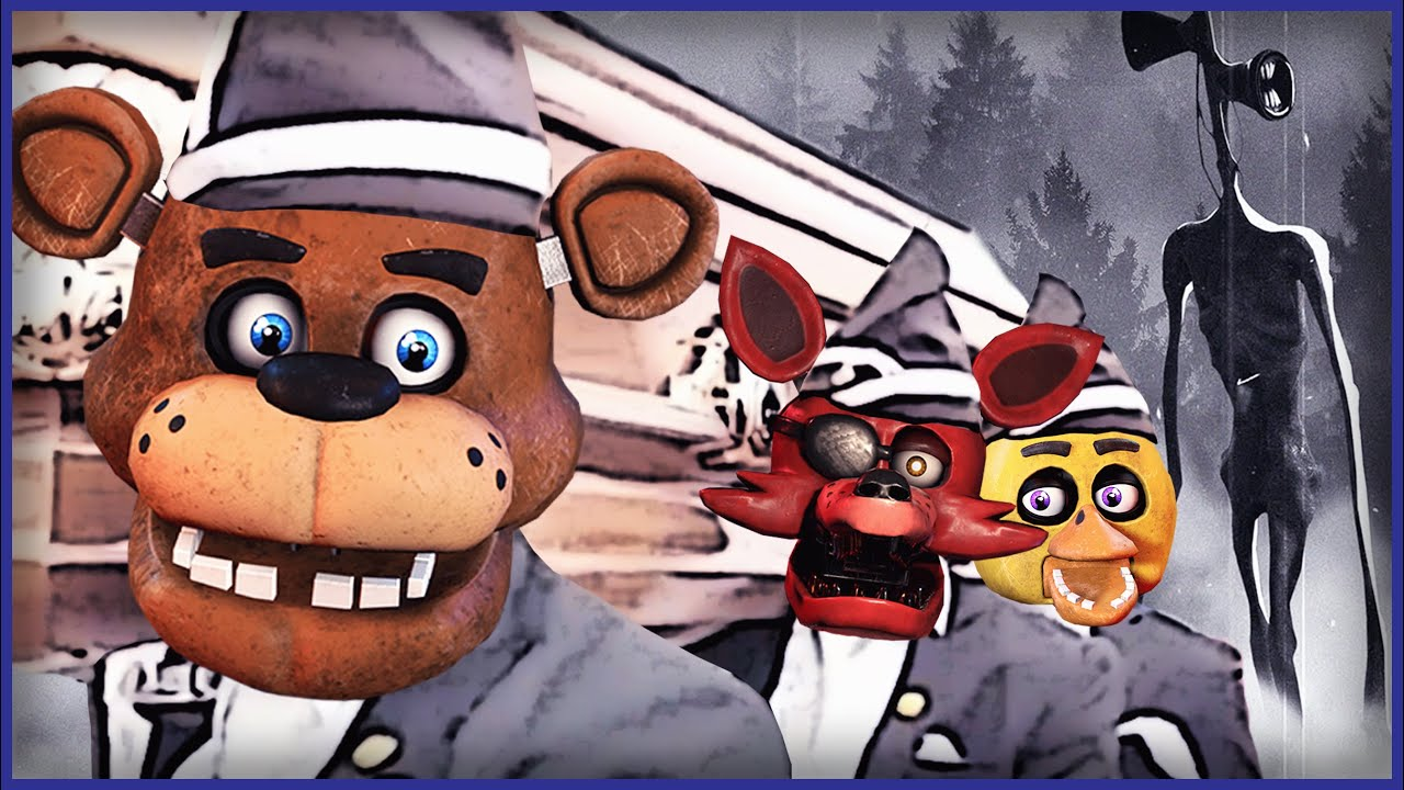 Five Nights at Freddy's & Siren Head - Astronomia/Coffin Dance (COVER) thumbnail