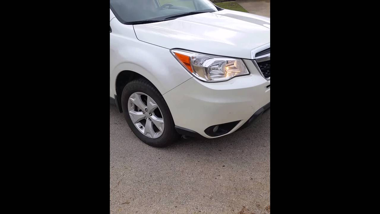 2015 Forester Clunking Noise
