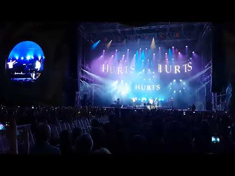 Hurts - Beautiful Ones - Live in Bucharest...