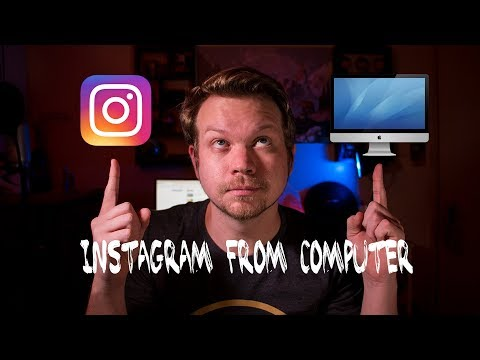 How to Post PHOTOS to Instagram from Your Computer 2018  🖥
