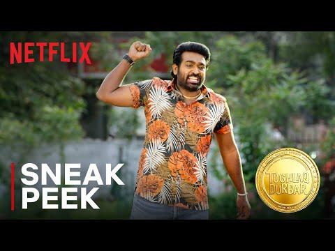 Download Vijay Sethupathi will do anything for Parthiban! | Tughlaq Durbar | Netflix India