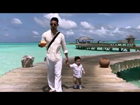 Best giler! Hairul Azreen & Hanis Zalikha bawa Yusuf Iskandar bercuti di Soneva Jani, Maldives