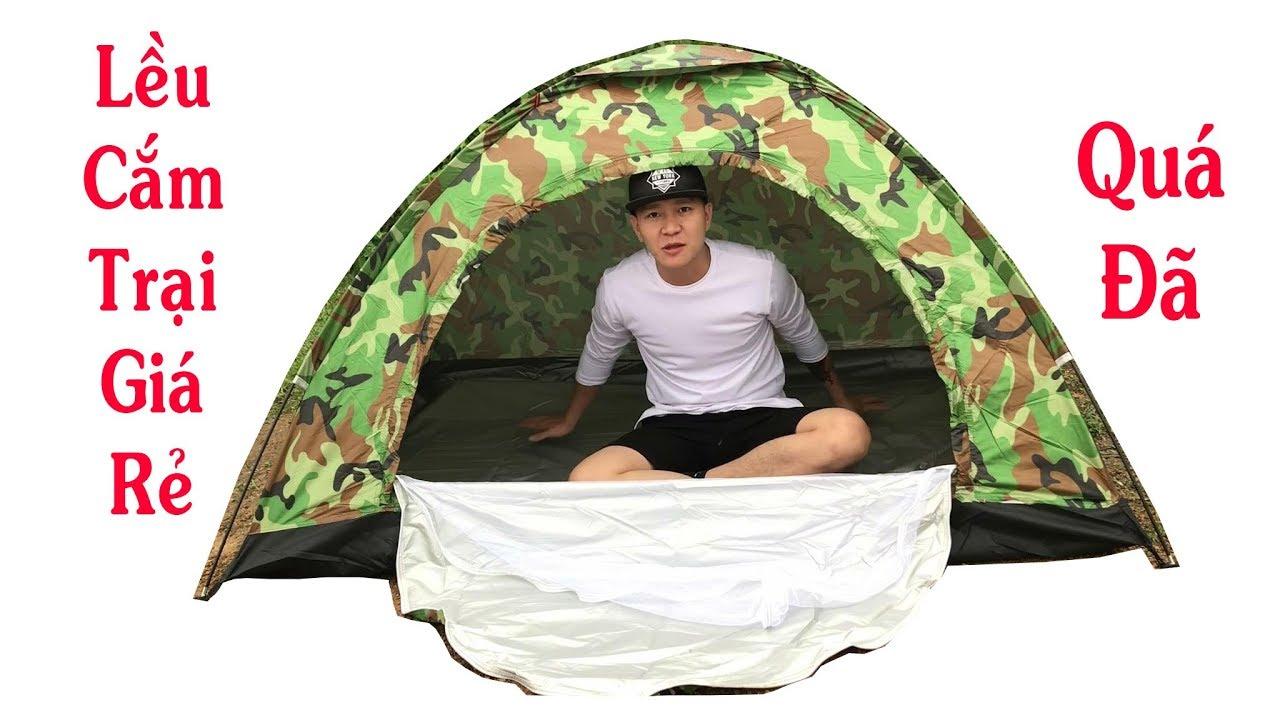 Dùng Thử Lều Cắm Trại Dành Cho 2 Người Giá Rẻ