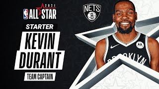 Best Plays From All-Star Captain Kevin Durant | 2020-21 NBA Season