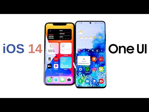iOS 14 vs One UI – Which Has Better Navigation?