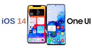 iOS 14 vs One UI - Which Has Better Navigation?