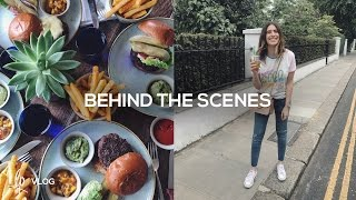 BEHIND THE SCENES   Lily Pebbles Vlog