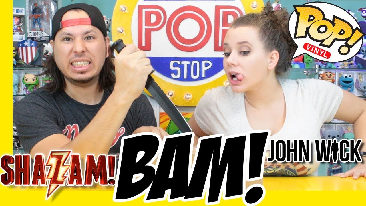 Celebrity Signed FUNKO POP!   The BAM! Box   Shazam, John Wick, Spider-Man  & MORE!