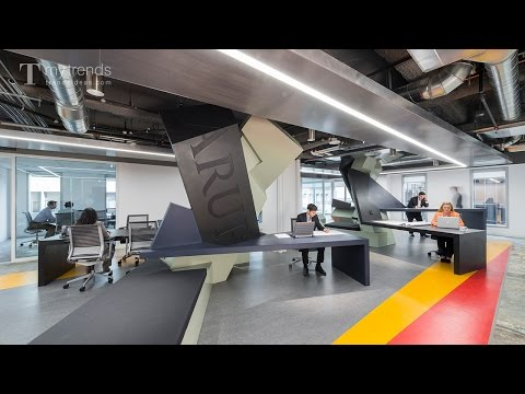 Arup satellite office space in downtown LA designed by Zago Architecture for activity-based working