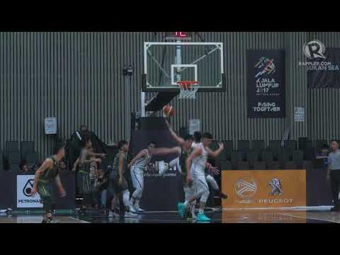 SEA Games 2017: Kobe Paras throws down monster dunk vs Myanmar