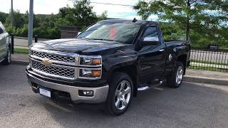 Black 2015 Chevrolet Silverado 1500 LT Review Oshawa ON - Roy Nichols Motors Ltd