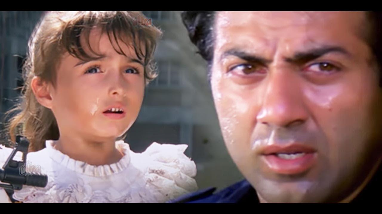 अपने बच्चे के लिए सनी देओल का संघर्ष - इम्तिहान ज़बरदस्त आखिरी सीन - रवीना टंडन - सैफ अली खान