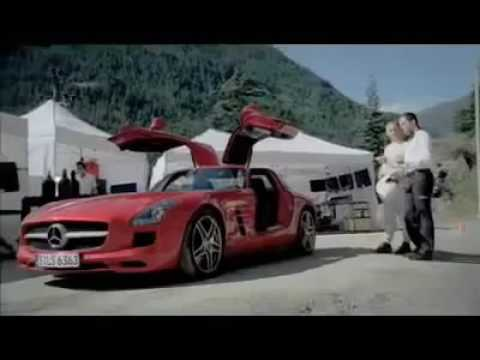 Flying Car Form Mercedes