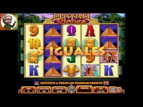 MAYAN RICHES , trucos tips y secretos casino tragaperras slot game . gane $110000