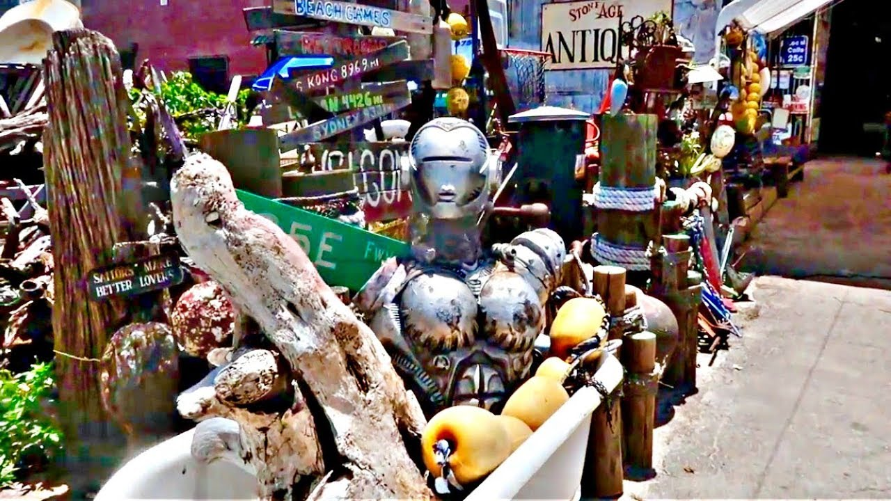 Stone-Age Antiques (BEST ANTIQUE SHOP IN MIAMI!) - YouTube