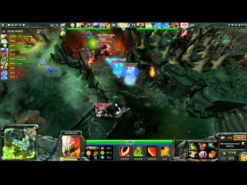 LGD vs Na`Vi - TI 2 - WB - Game 2
