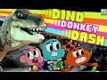 The Amazing World of Gumball - DINO DONKEY DASH (Cartoon Network Games)