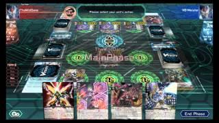 Cardfight Online: Nova Grappler Vs Link Joker