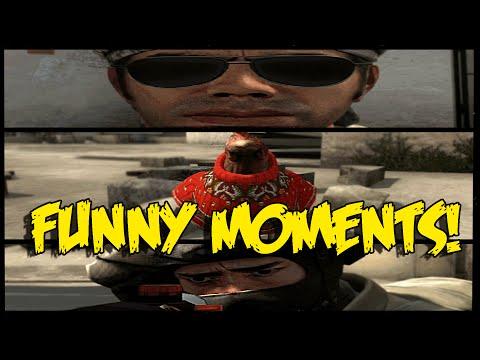 CS:GO FUNNY MOMENTS - INSANE REVOLVER SHOT, CSGO CHRISTMAS SONG ,MLG PRO NADE (Funny Moments)