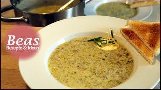 Käse-Lauch Suppe Rezept | Schnell herzhaft kochen | Porree - Hackfleisch