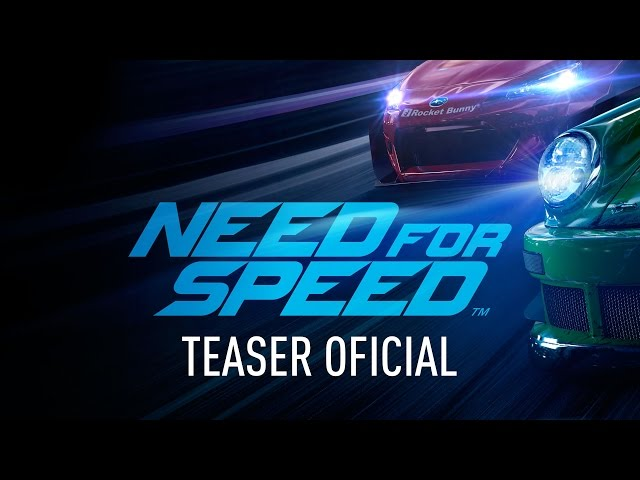 teaser oficial Need for Speed