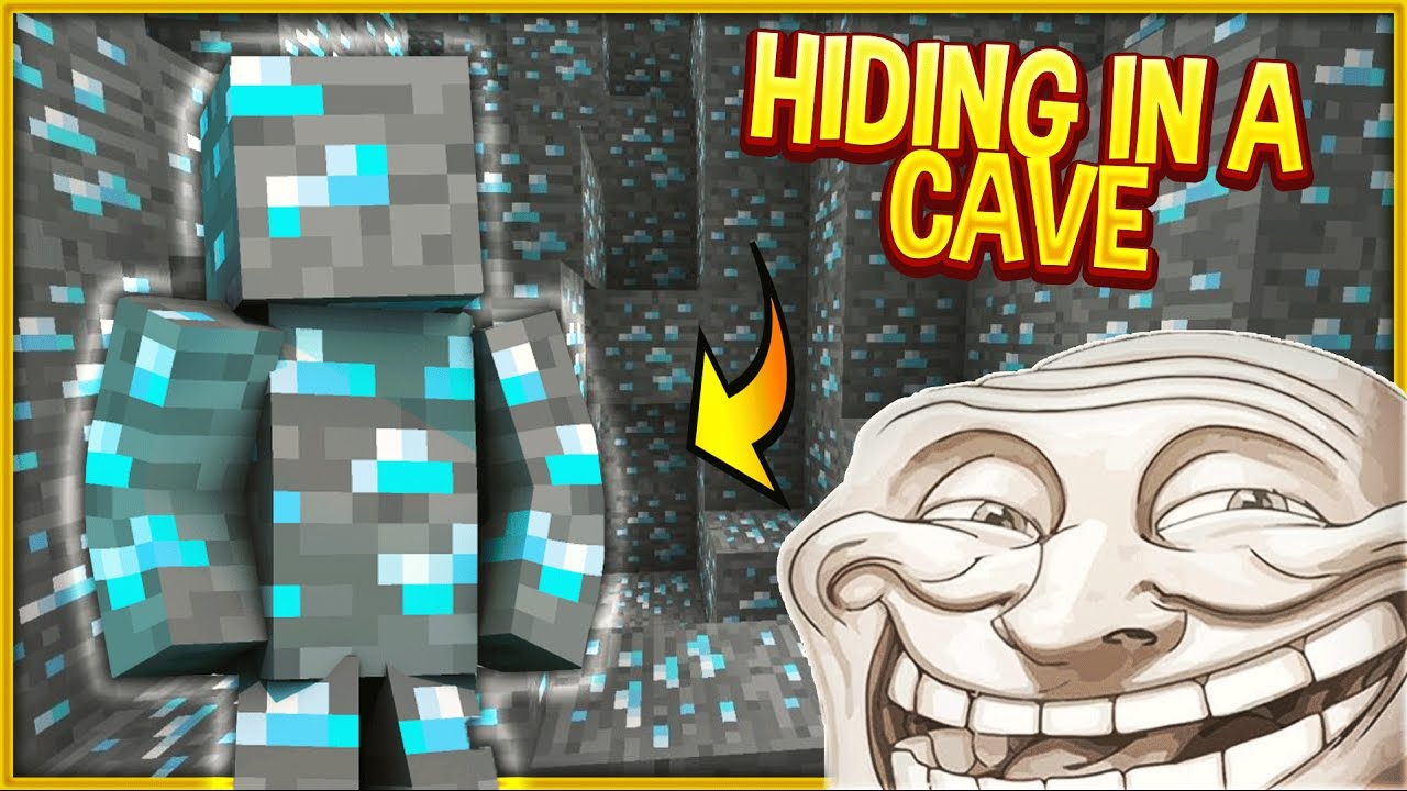 I AM DIAMOND ORE TROLL (Minecraft Trolling)