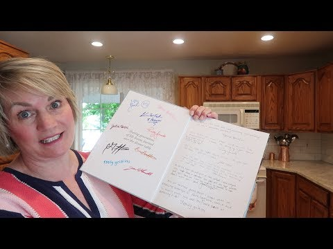 Whats In My Cookbook?
