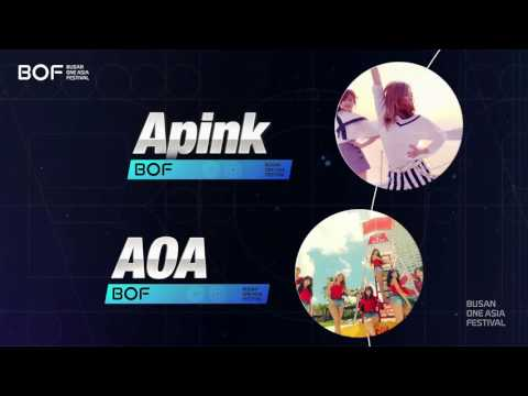 Line-up Artists Busan One Asia Festival - BOF